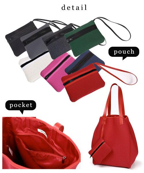qbagparisPiconLピコンパリ発!!ネオプレントートバッグQバッグqbagトートバッグ大容量ネオプレンバッグウェットスーツ素材の軽量