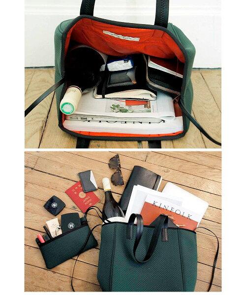 ピコンパリ発!!ネオプレントートバッグQバッグqbagトートバッグ大容量ネオプレンバッグウェットスーツ素材の軽量