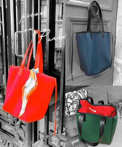 ネオプレントートバッグQバッグqbagトートバッグ大容量ネオプレンバッグウェットスーツ素材の軽量