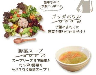 ブッダボウル、野菜スープ