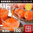 100%無農薬人参冷凍ジュース とくべつなにんじんジュース 1ヶ月分 100cc×30p にんじんジュース 無添加 ストレート…