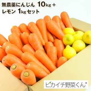にんじん10kg+レモン1kg