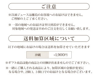 冷凍ギフト沖縄送料加算