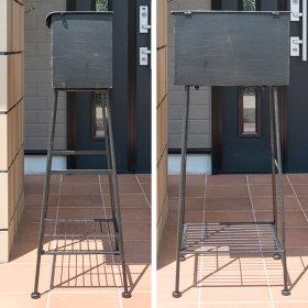メールボックス郵便受けポスト北欧mailbox表札プレゼント郵便ポストスタンドタイプアンティーク送料無料