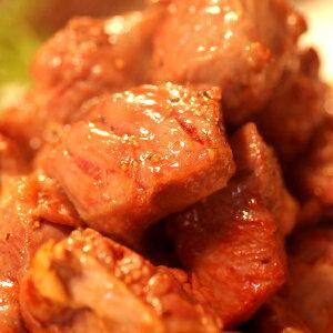 【送料無料!】ボリューム満点!サイコロステーキ用★中落ちカルビどっさり1kg[A冷凍]