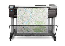 【プロッター】【法人向け】HP DesignJet T830 A0モデル F9A30B#BCD インクジェットプリンター 36inch   2020 印刷 大型 設計 図面 デザインジェット 軽量 最小 小型 カラー インク 鮮やか カラフル スピード印刷 スペース活用 大判プリンター