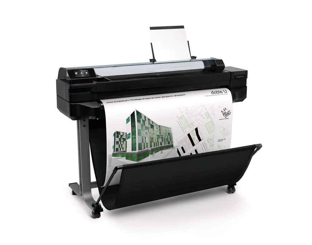 【プロッター】HP Designjet T520 36inch ePrinter インクジェットプリンター CQ893A | 2019 印刷 大型 設計 図面 デザインジェット 軽量 最小 小型 カラー インク 鮮やか カラフル スピード印刷 スペース活用 大判プリンター