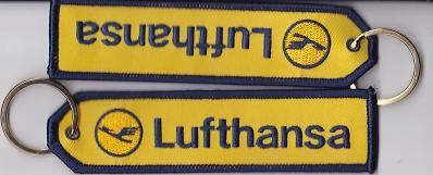 Lufthansa キイチェーンタグ