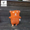 【KLIPPAN】ぬいぐるみ カドリーベアズ(ファンニ)オレンジ