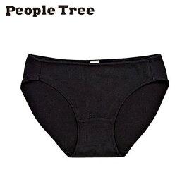 【People Tree/ピープルツリー】オーガニックコットン ストレッチ ショーツ(ブラック)