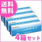 【送料無料】メニコンワンデー【4箱】1日使い捨てコンタクトレンズ