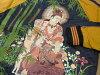 小偷日记斯卡恩 Kishibojin 老虎缎日本图案男装 DW2553 海军新