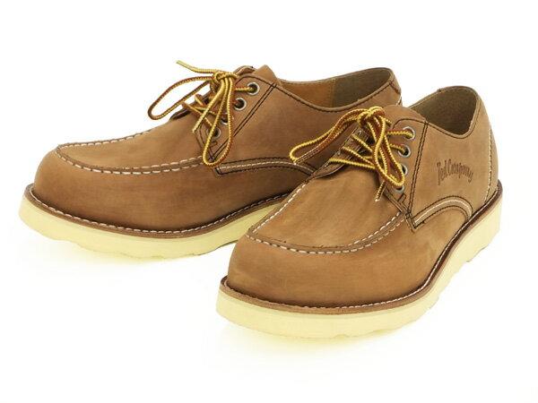 テッドマン レザーオックスフォードブーツ RDB-700 TEDMAN エフ商会 メンズ シューズ 靴 ライトブラウン 新品