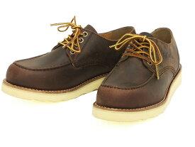 テッドマン レザーオックスフォードブーツ RDB-700 TEDMAN エフ商会 メンズ シューズ 靴 ダークブラウン 新品