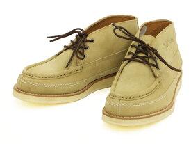 テッドマン スウェードブーツ RDB-900 TEDMAN エフ商会 メンズ シューズ 靴 ベージュ 新品