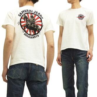 Samurai jeans T shirts SJST15-101 dokuganryu Masamune Samurai Jeans mens short sleeve tee off white brand new