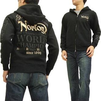 諾頓摩托車Parker 53N1304 Norton Motorcycle人運動衫PK黑色新貨