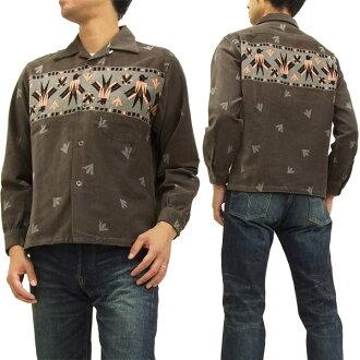 sutairuaizukodeyuroisupotsushatsu SE27115雷鳥東洋企業人長袖子襯衫#115灰色新貨