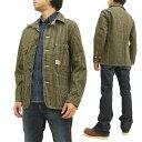 ヘッドライト ブラウンヒッコリー ワークコート HD13017 HEADLIGHT 東洋エンタープライズ メンズ ジャケット 新品