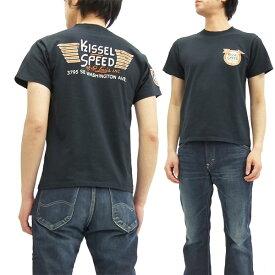 フェローズ Tシャツ PT3 Pherrow's Pherrows Kissel Speed メンズ 半袖tee 16S-PT3 S.ブラック 新品