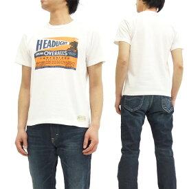 ヘッドライト Tシャツ HD76888 HEADLIGHT 東洋エンタープライズ メンズ 半袖 Tee オフ白 新品