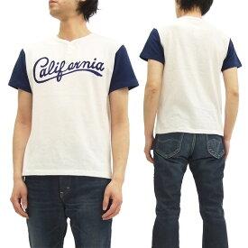 チェスウィック ヘンリーネック Tシャツ CH77311 2トーン ロゴ刺繍 メンズ 半袖tee #101ホワイト 新品