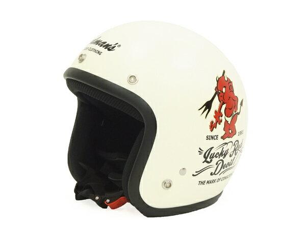 テッドマン ヘルメット TMH-12 TEDMAN エフ商会 メンズ Helmet Flat Vanilla 新品