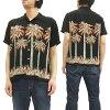 Duke Kahanamoku Hawaiian Shirt DK37252 Palm Tree Men's short Sleeve Shirts Black