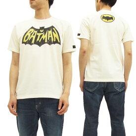 トイズマッコイ Tシャツ TMC1648 バットマン BATMAN LOGO TOYS McCOY メンズ 半袖tee #011オフ白 新品