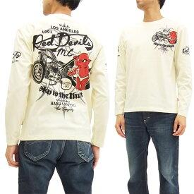 テッドマン 長袖Tシャツ TDLS-306 TEDMAN エフ商会 メンズ ロンtee オフ白 新品