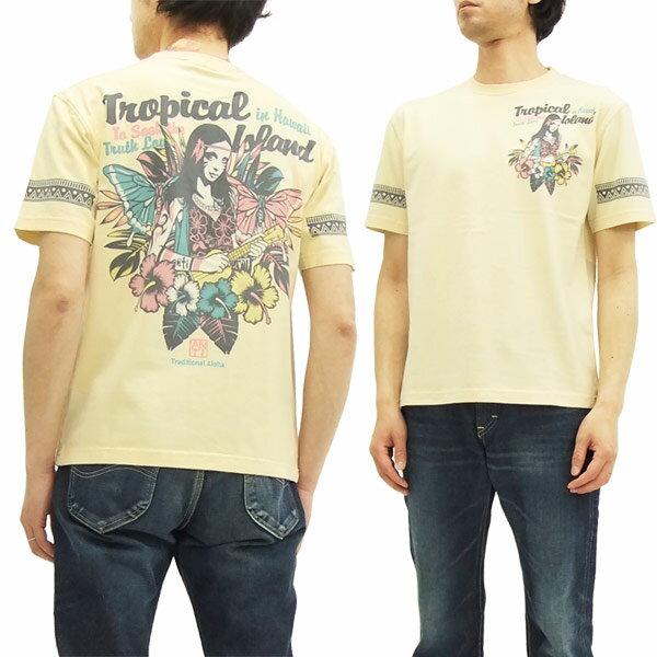 ANTI アンチ Tシャツ ATT-150 ウクレレガール エフ商会 メンズ 半袖tee スモーク 新品