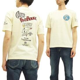 ANTI アンチ Tシャツ ATT-152 Club Anti Rouge エフ商会 メンズ 半袖tee オフ 新品
