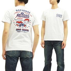 ロードランナー Tシャツ CH77679 Cheswick チェスウィック メンズ 半袖tee 101ホワイト 新品