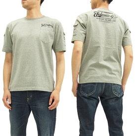 テッドマン 3ポケット Tシャツ TDSS-470 TEDMAN エフ商会 メンズ 半袖tee アッシュグレー 新品