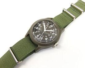 アルファ ベトナムウォッチ ALW-46374 ALPHA 腕時計 メンズ ミリタリーウォッチ ブラック×V.グリーン 新品