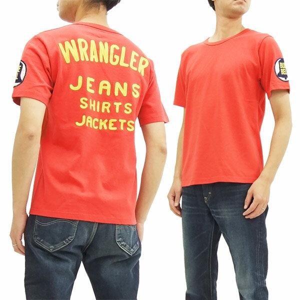 ラングラー ブルーベル Tシャツ WT5018 Wrangler チャンピオンジャケットスタイル メンズ 半袖Tee レッド 新品