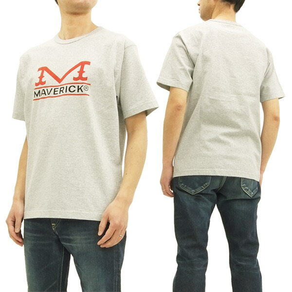 ラングラー マーベリック Tシャツ WT5025 Wrangler Maverick メンズ 半袖Tee #202ヘザーグレー 新品