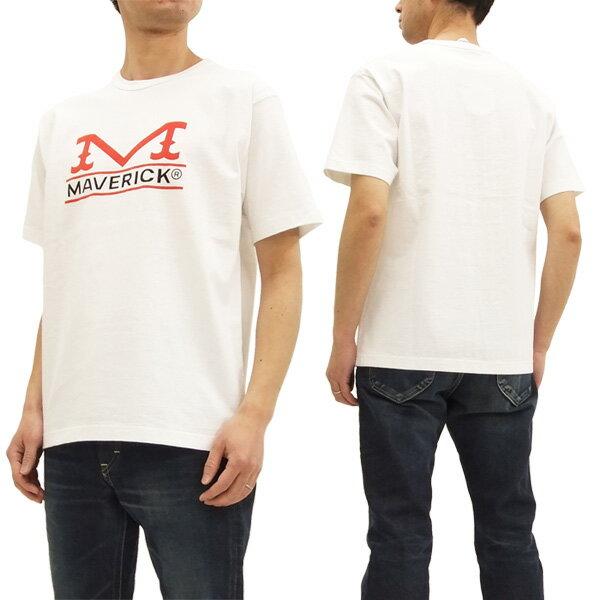 ラングラー マーベリック Tシャツ WT5025 Wrangler Maverick メンズ 半袖Tee #218オフ白 新品