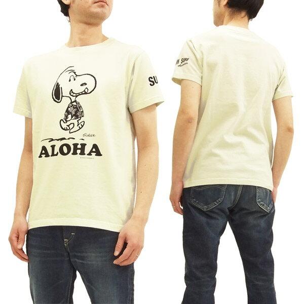 サンサーフ x ピーナッツ SS77973 Tシャツ スヌーピー 東洋 Sun Surf メンズ 半袖Tee #105オフ 新品