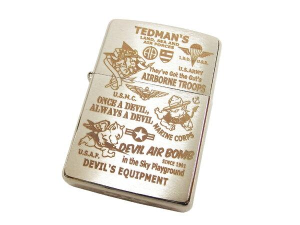 テッドマン ジッポー ライター TEDMAN TDZ-019 エフ商会 ZIPPO 新品