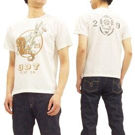 トイズマッコイ Tシャツ TMC1816 バッグスバニー UDT TOYS McCOY メンズ 半袖Tee #011オフ白 新品