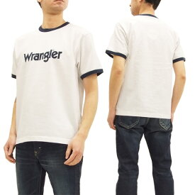 ラングラー Tシャツ WT5026 Wrangler ロゴプリント メンズ リンガー 半袖Tee #118オフ白 新品