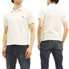 フェローズ ポロシャツ PPS1 Pherrow's Pherrows 定番 メンズ 半袖 POLO 18S-PPS1 オフ白 新品