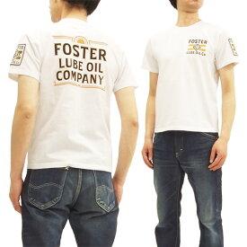 フェローズ 18S-PT12 Tシャツ Pherrow's Pherrows ワッペン付き メンズ 半袖tee ホワイト 新品
