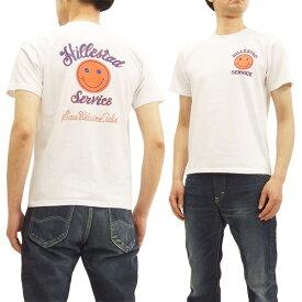 フェローズ 18S-PT15 Tシャツ スマイル Pherrow's Pherrows メンズ 半袖tee ホワイト 新品