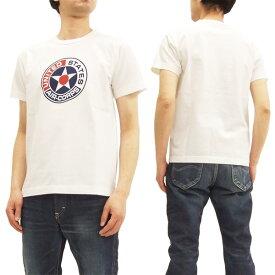 バズリクソンズ BR77930 Tシャツ Buzz Rickson's 東洋 メンズ ミリタリー 半袖Tee ホワイト 新品