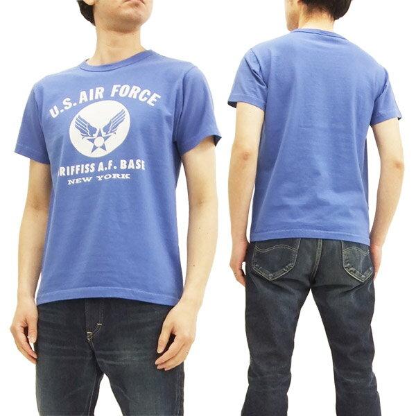 バズリクソンズ BR78015 U.S.エアフォース Tシャツ Buzz Rickson's 東洋 メンズ 半袖Tee #125ブルー 新品