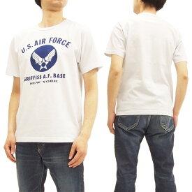 バズリクソンズ BR78015 U.S.エアフォース Tシャツ Buzz Rickson's 東洋 メンズ 半袖Tee #101ホワイト 新品
