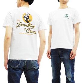 バズリクソンズ BR78019 Tシャツ Buzz Rickson's 東洋 ミリタリー メンズ 半袖Tee ホワイト 新品