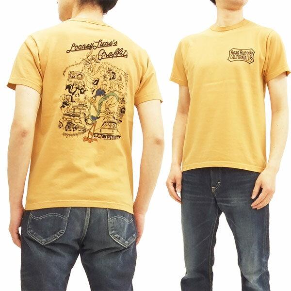 ロードランナー Tシャツ CH78004 Cheswick チェスウィック 東洋 メンズ 半袖tee #159オレンジ 新品
